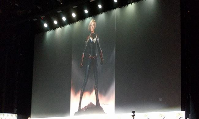 Captain Marvel full suit concept art