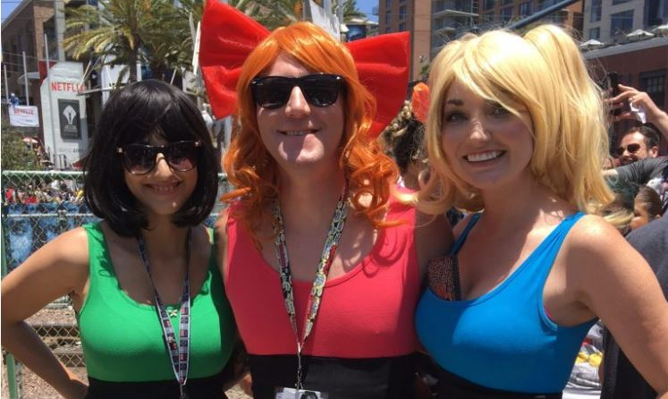 cosplay SDCC 2017