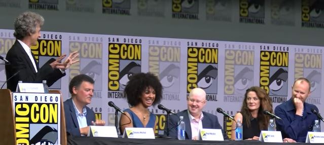 doctor who sdcc 2017 panel