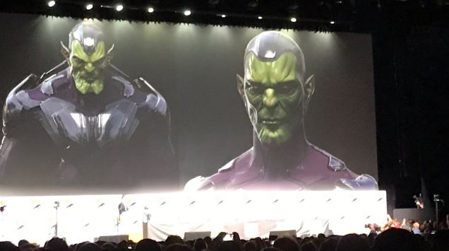 Captain Marvel skrull concept art