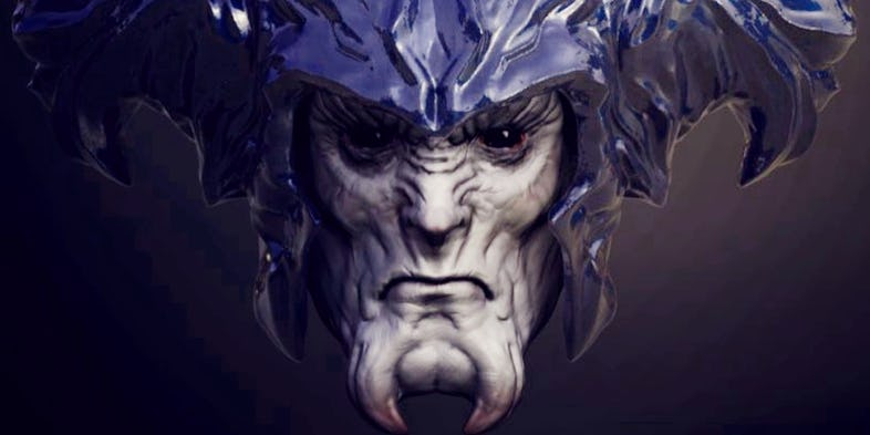 Steppenwolf-Justice-League-Face-Model