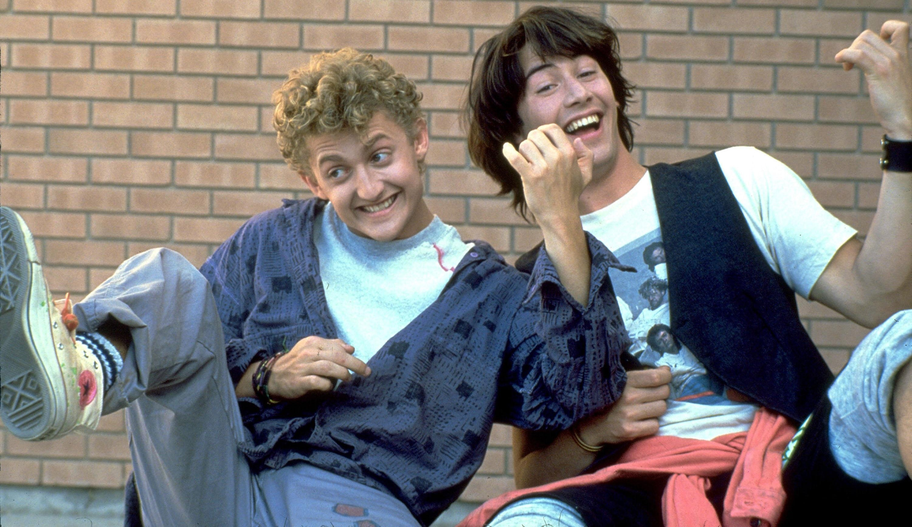 Bill and Ted Keanu Reeves Alex Winters