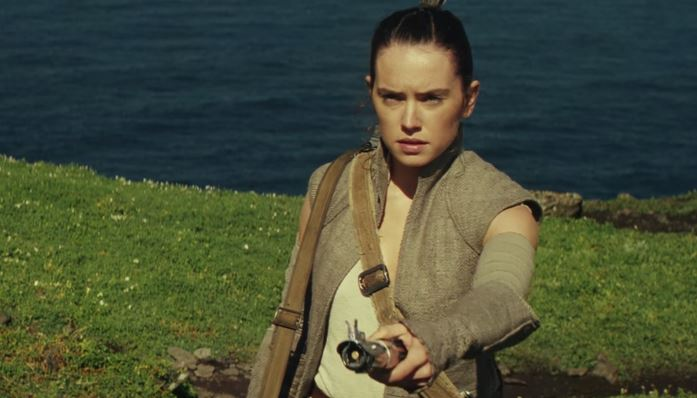 Daisy Ridley as Rey in 'Star Wars: The Force Awakens'