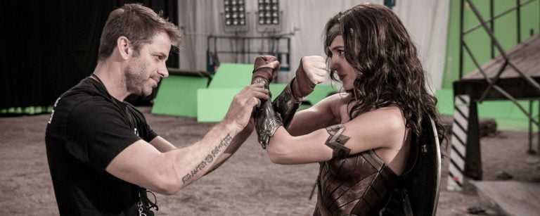 Zack Snyder And Gal Gadot
