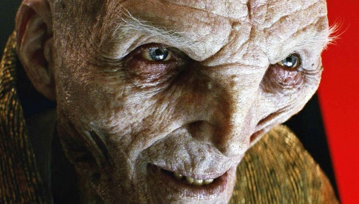 Andy Serkis Wanted Snoke To Survive 'Star Wars: The Last Jedi'