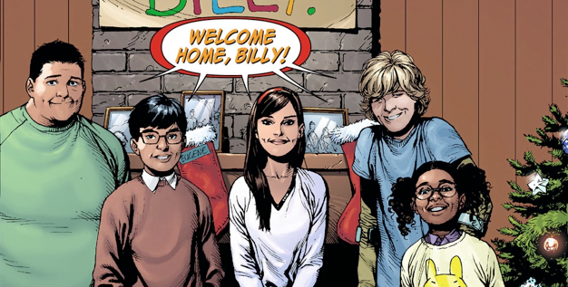 New Photo Shows The Shazam! Family Kids