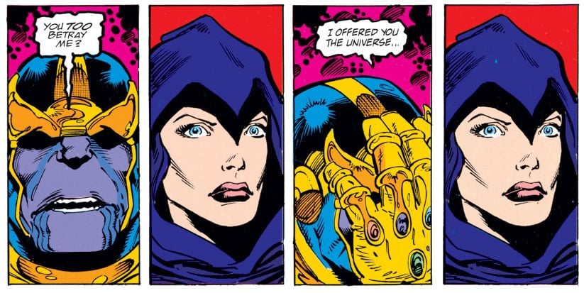 Jim Starlin Thanos