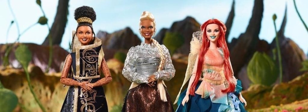 A Wrinkle In Time Barbie Dolls