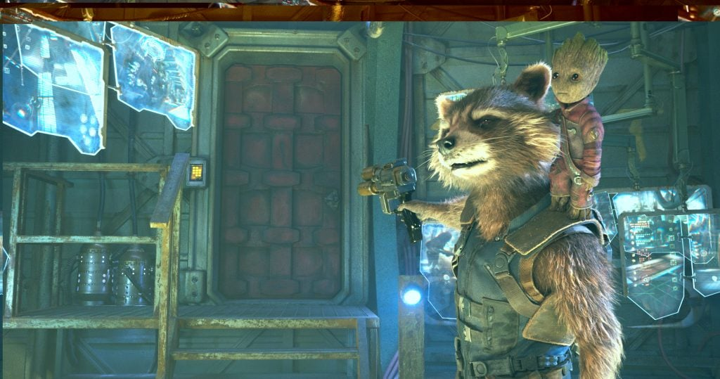 James Gunn rocket raccoon guardians of the galaxy 2