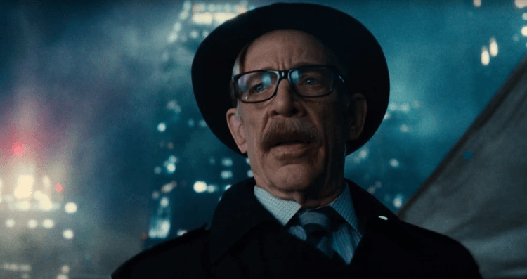 J.K. Simmons Commissioner Gordon Justice League