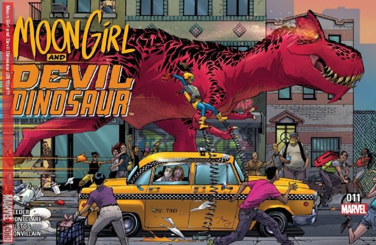 'Moon Girl And Devil Dinosaur' Is Coming To Disney