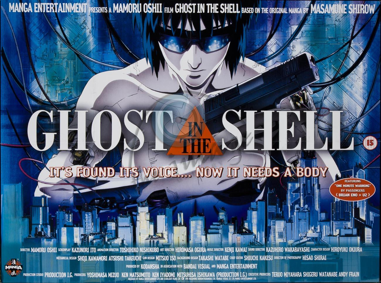 Throwback Thursday Ghost In The Shell 1995 Sciencefiction Com