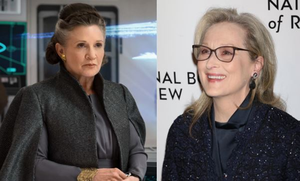 carrie fisher meryl streep