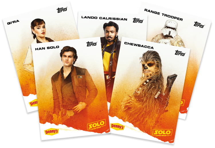 solo: a star wars story cards