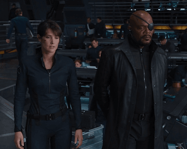 nick fury maria hill