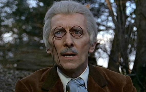 peter cushing doctor who