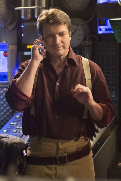 Nathan Fillion Firefly American Housewife