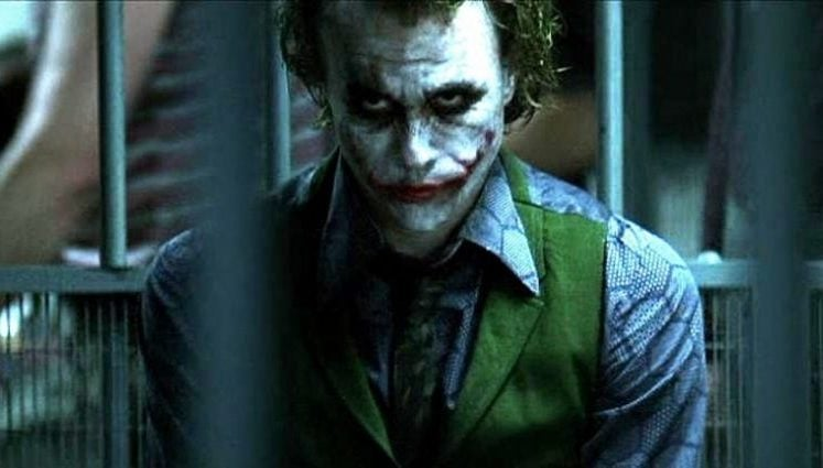 Patton Oswalt  Heath Ledger Joker