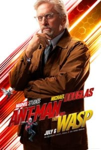 Michael Douglass in Ant-Man and the Wasp