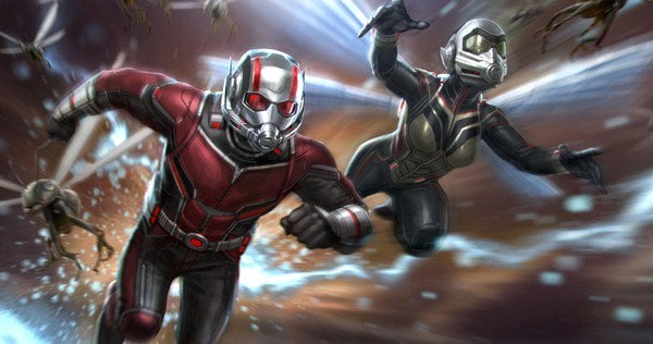 'Ant Man And The Wasp