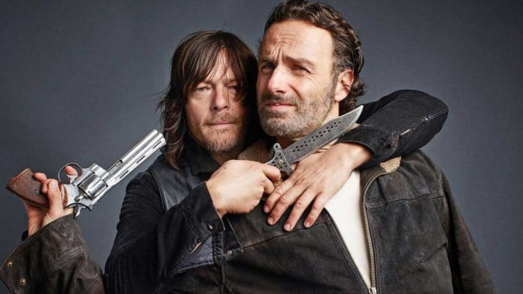Norman Reedus Andrew Lincoln The Walking Dead