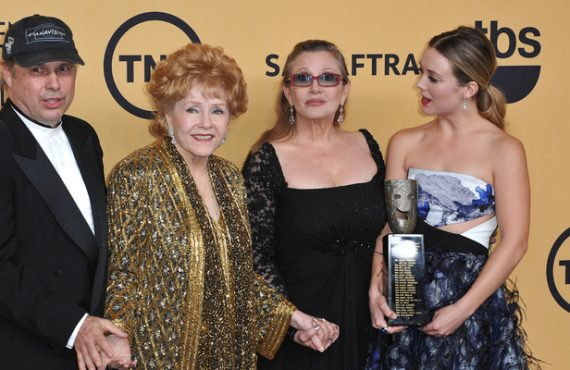 Todd Fisher, Debbie Reynolds, Carrie Fisher, Billie Lourd