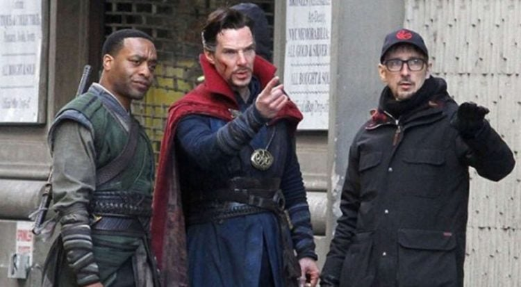 'Doctor Strange' Director Scott Derrickson Deleted His Twitter Account