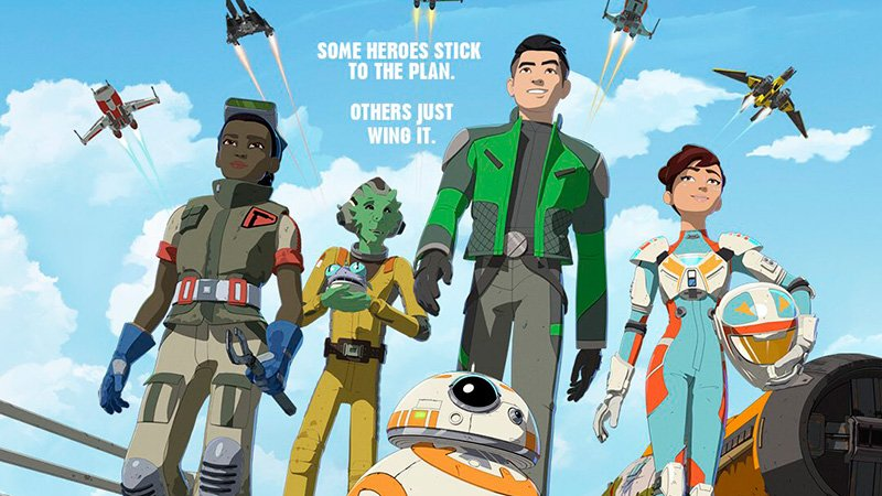Lucasfilm Releases Official Poster for 'Star Wars: Resistance'