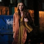 """Supernatural -- """"Stranger in a Strange Land"""" -- Image Number: SN1401a_0289b.jpg -- Pictured: Danneel Ackles as Anael -- Photo: Bettina Strauss/The CW -- © 2018 The CW Network, LLC All Rights Reserved"""