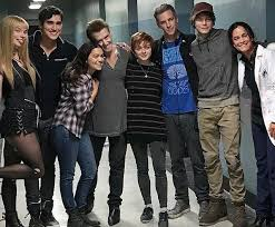 Josh Boone and the cast of New Mutants