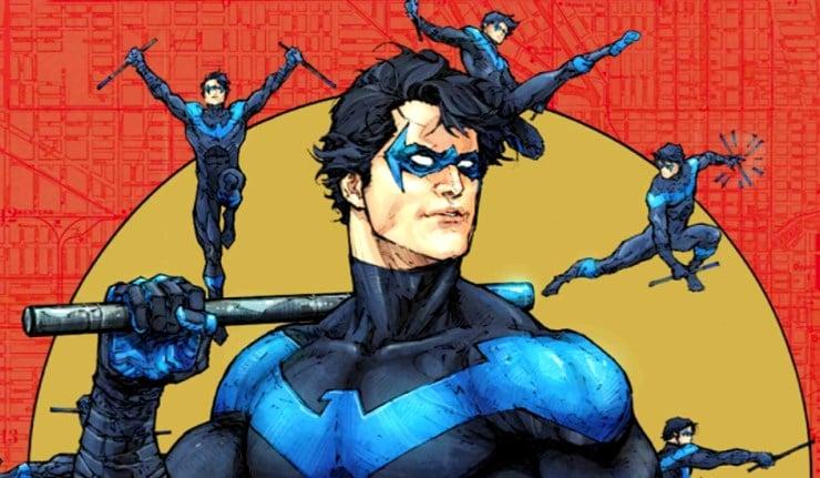 Titans Nightwing Robin