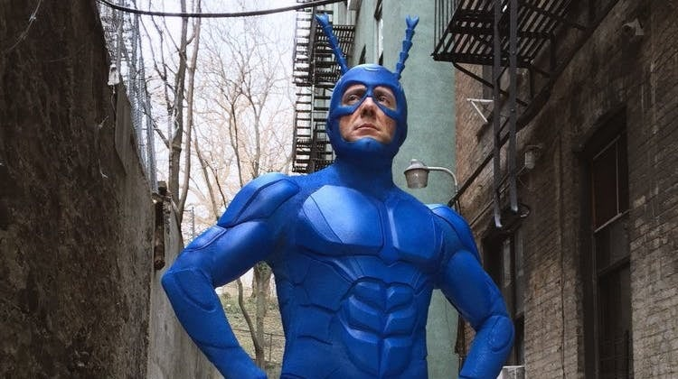 NYCC 2018 Peter Serafinowicz The Tick