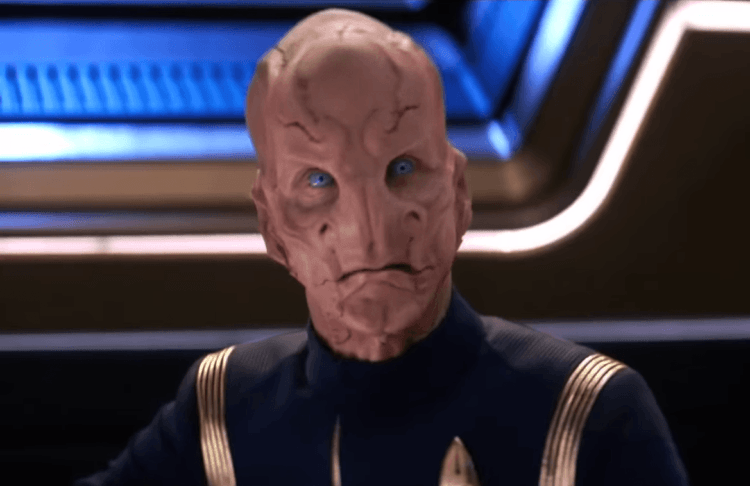 Doug Jones as Saru in Star Trek: Discovery