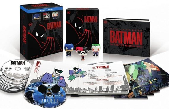 batman animated blu-ray