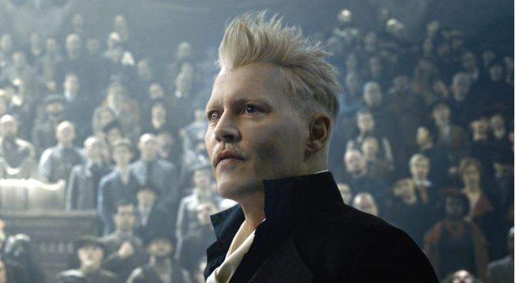 johnny depp crimes of grindelwald