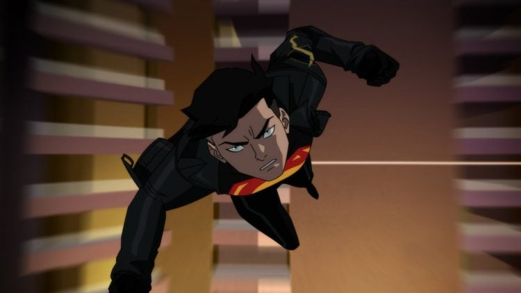 This Reign Of The Supermen Clip Shows Off Superboy In All His Glory
