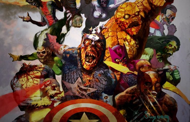 Throwback Thursday Marvel Zombies
