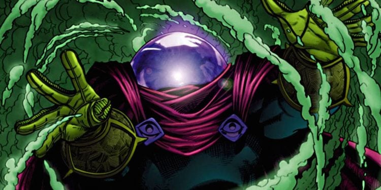 Our First Look At Jake Gyllenhaal's Mysterio Comes From A Promo Illustration