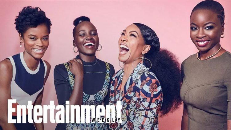 The Women Of 'Black Panther' Are Named Among The 'Entertainers Of The Year'