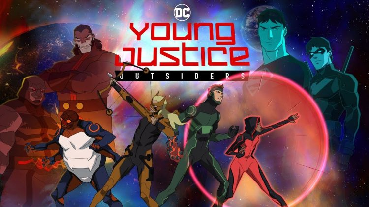 The First Look At Young Justice: Outsiders Has Kaldur'ahm As Aquaman