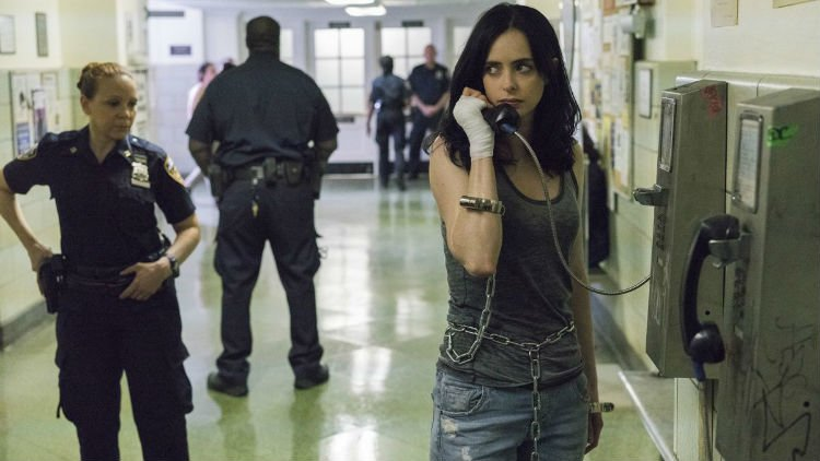 Jessica Jones Can't Get A Break As She Has More Problems With The NYPD In These New Set Photos