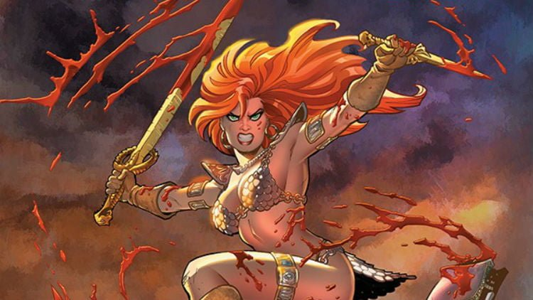 Creative Team And Details For The New Red Sonja Comic Revealed