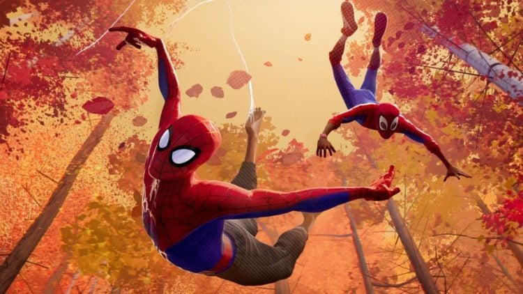 Watch An Extended Scene Of Peter Training Miles From Spider-Man: Into The Spider-Verse