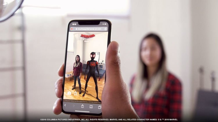 If You Love Augmented Reality, Then Check Out The Spider-Verse Web AR Experience'