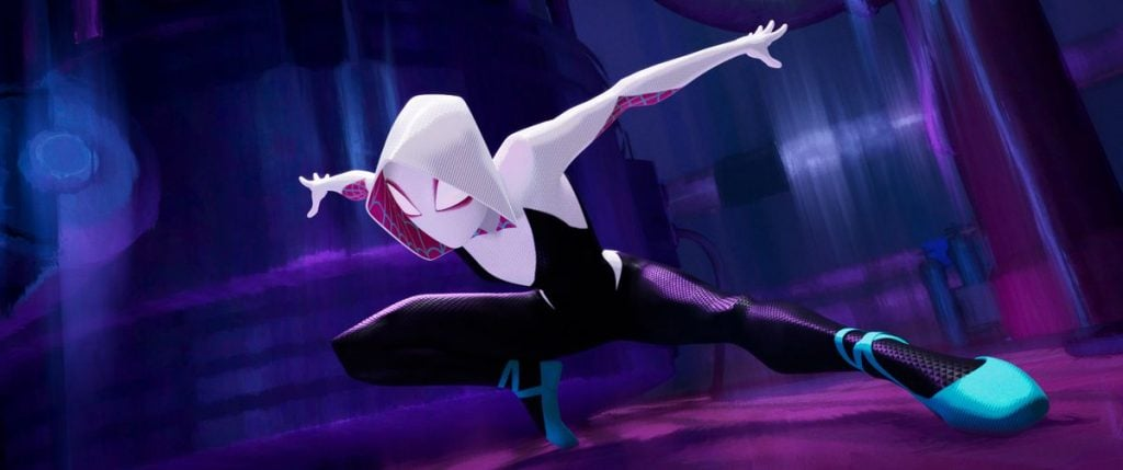 About Gwen Time: New Spider-Man: Into The Spider-Verse TV Spot Shows Gwen Stacy In Action