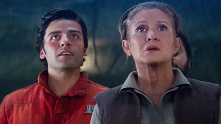 Oscar Isaac Carrie Fisher Star Wars: Episode IX