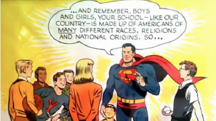Adi Shankar Signs On To Co-Produce Superman Vs. The Ku Klux Klan