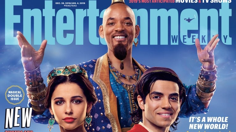 Get Your First Look At Will Smith And The Cast Of Aladdin