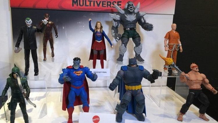 Mattel Loses The Rights To Make DC Comics Boys Toys