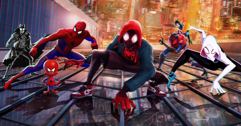 Now On The Web: Sony Puts 'Spider-Man: Into The Spider-Verse ...